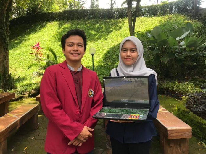 Rifqi dan Evita, dua mahasiswa Teknik Mesin UMM